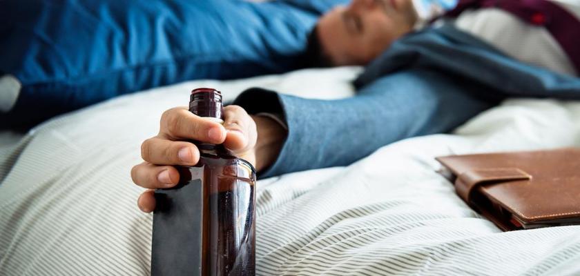 Последняя стадия алкогольного отравления